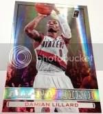 13/14 Panini All-Panini Damian Lillard Insert Card