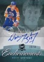2012-13 The Cup Wayne Gretzky Autograph