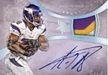2013 Topps Five Star Adrian Peterson
