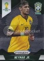 2014 Panini Prizm Soccer Neymar Jr