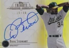 2014 Topps Tribute Dave Stewart