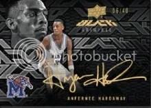 13-14 UD Black Anfernee Hardaway Autograph