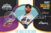 2013 Heritage Minor League Danny Salazar