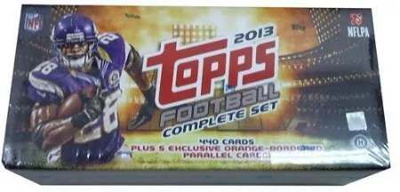 2013 Topps Football Factory Set