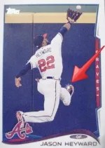 2014 Topps Series 1 Jason Heyward Sparkle