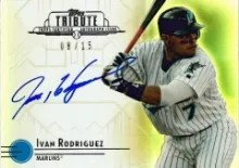 2014 Topps Tribute Ivan Rodriguez