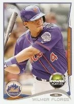 2014 Topps Series 1 Wilmer Flores Power Players