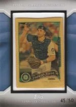 2014 Topps Series 1 Mike Zunino Silk