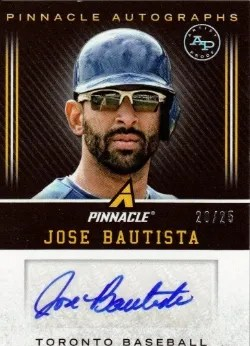 2013 Pinnacle Artist Proof Jose Bautista