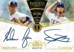 2014 Topps Tribute Dual Autograph