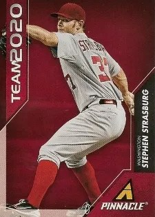 2013 Pinnacle Team 2020 Stephen strasburg Insert