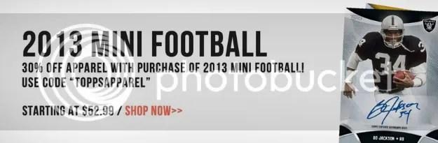 2013 Topps Mini Football Cards