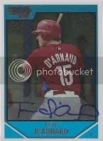 2007 Bowman Draft Travis d'Arnaud