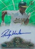 2014 Topps Tribute Rickey Henderson