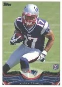 2013 Topps Aaron Dobson RC Variation