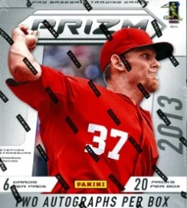 2013 Panini Prizm Baseball Box