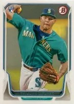 2014 Bowman Taijuan Walker RC