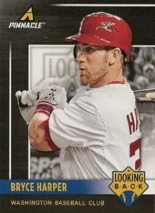 2013 Pinnacle Bryce Harper Looking Back Insert