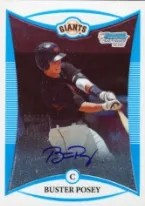 2008 Bowman Draft Buster Posey Autograph