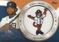 2014 Topps Series 1 Prince Fielder Patch