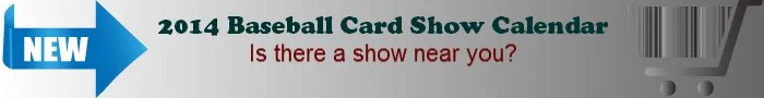 2014 Sports Card Show Calendar