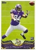 2013 Topps Cordarrelle Patterson RC