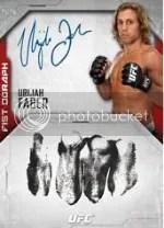 2014 Topps UFC Knockout Urijah Faber