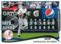 2014 Topps Series 1 Mariano Rivera Sparkle