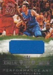 13-14 Panini Court Kings Performance Art Nick Collison Jersey