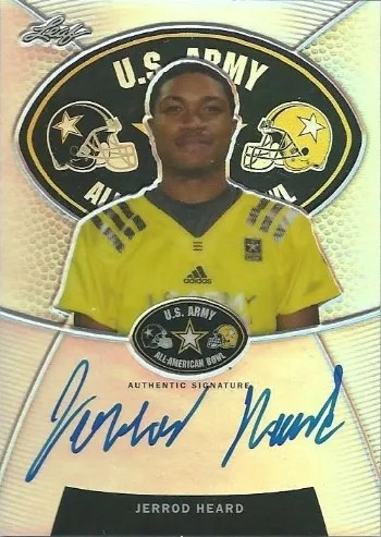 2014 Leaf Metal Army AAB Auto Jerrod Heard