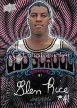 13-14 UD Black Old School Geln Rice