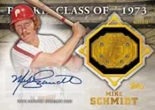 2014 Topps Series 2 Commemorative Relic Auto