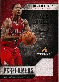 13/14 Panini Pinnacle Performers Jersey