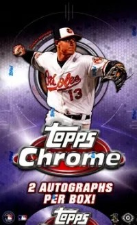 2013 Topps Chrome Baseball Box