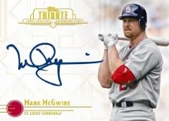 2013 Topps Tribute Mark McGwire Autographs