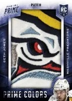 13-14 Panini Prime Seth Jones Patch