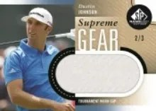 2014 Sp Game Used Dustin Johnson Supreme Gear