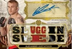 2014 Topps UFC Knockout Triple Threads