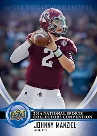 2014 Upper Deck National Sports Collectors Convention Johnny Manziel