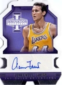 13/14 Panini Innovation Top Notch Autograph Jerry WEst