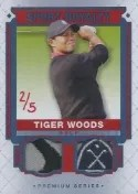 2014 Upper Deck Goodwin Tiger Woods Royalty Dual Tiger Woods