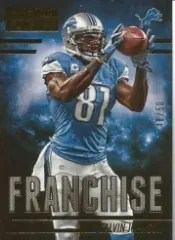 2014 Panini Hot Rookies Franchise Calvin Johnson Gold