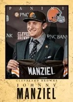 2014 Panini Father's Day Johnny Manziel Elite Series