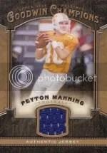 2014 Goodwin Champions Peyton Manning Jersey Card