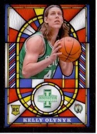 13/14 Panini Innovation Stained Glass Kelly Olynyk Insert