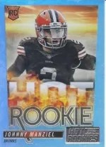 2014 Panini Hot Rookies Johnny Manziel