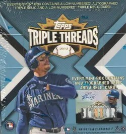 2012 Topps Triple Threads Box