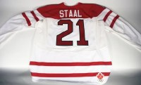 Eric Staal Team Canada Game Worn Jersey