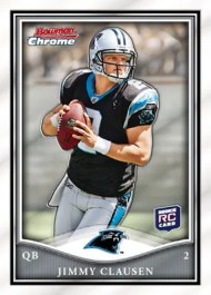 2010 Bowman Chrome Jimmy Clausen RC