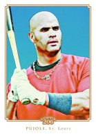 2010 Topps T206 Albert Pujols Base Card